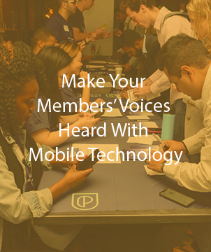 Make Your Members' Voices Heard With Mobile Technology